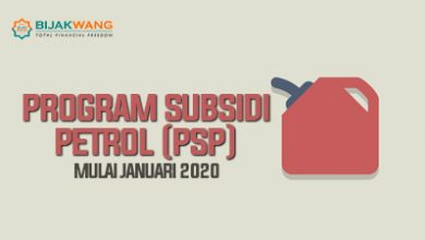 Photo of Program Subsidi Petrol (PSP) Mulai Januari 2020
